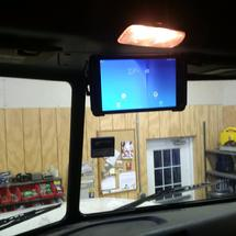 We are installing tablets in our trucks