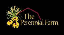Perennial Farm logo black background